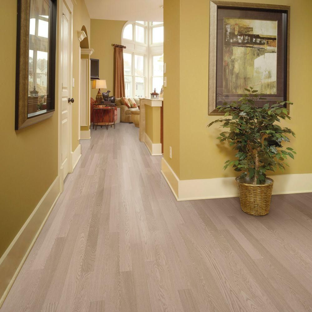 Home Legend Wire Brushed Oak Frost 3/8 in. Thick x 5 in