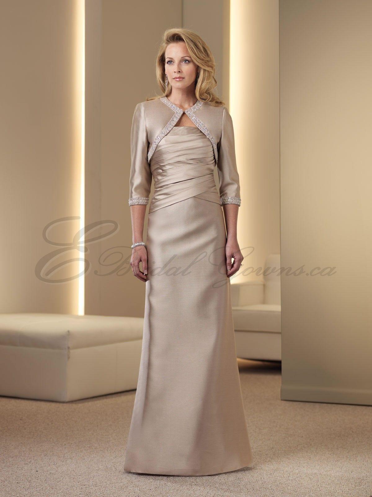silver wedding dresses for older brides Mother of
