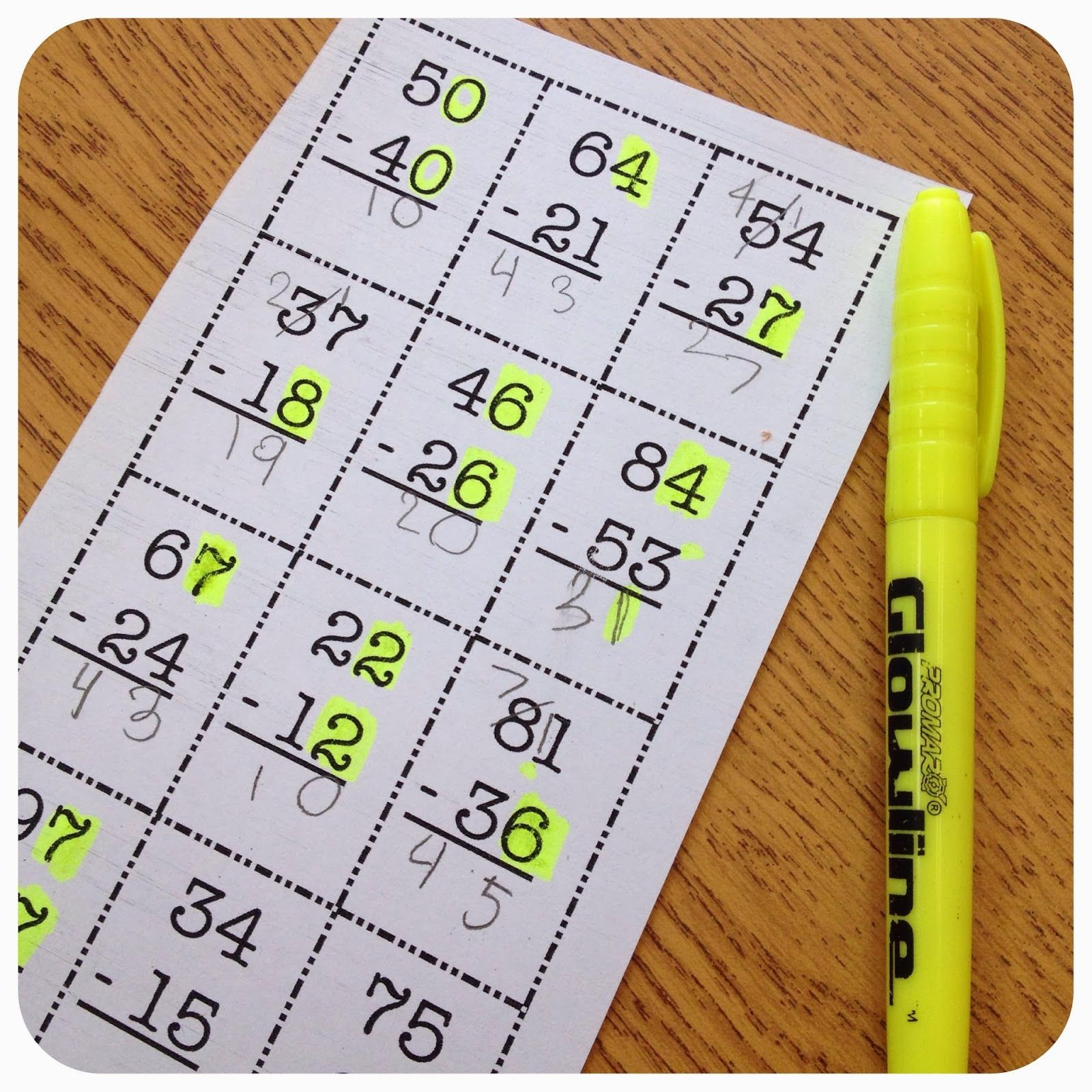 Regrouping Highlight When There Is More On The Floor Or When The Number S The Same