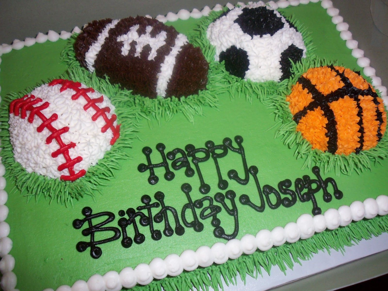 Sport Theme Cakes For Girls