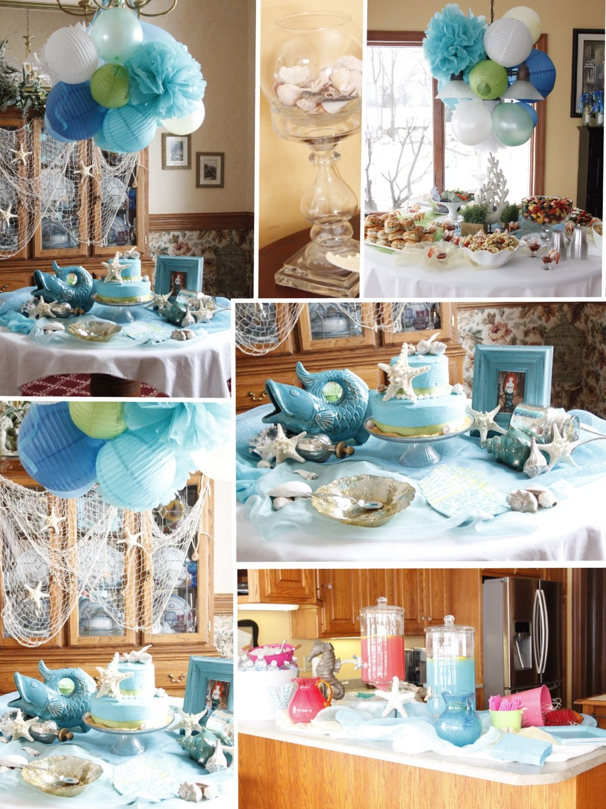 Under The Sea Bridal Shower! Showers Pinterest