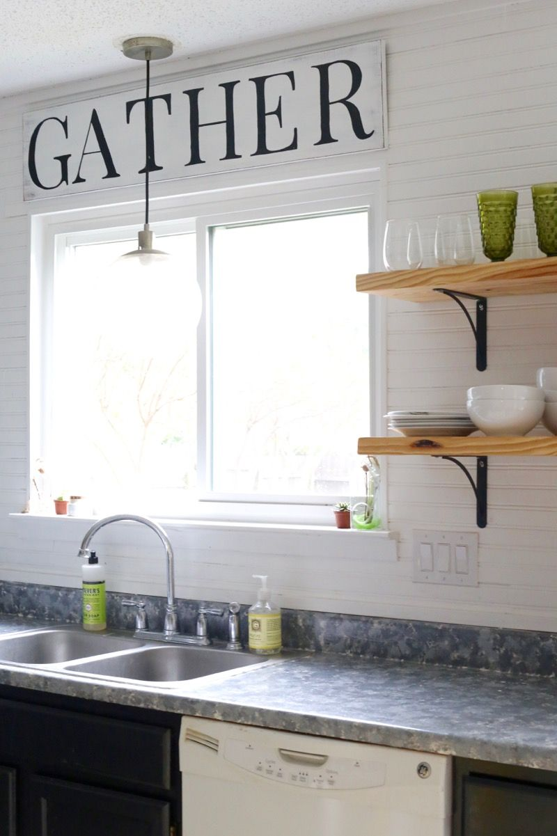 This DIY Farmhouse Style Sign Is So Simple To Make And It