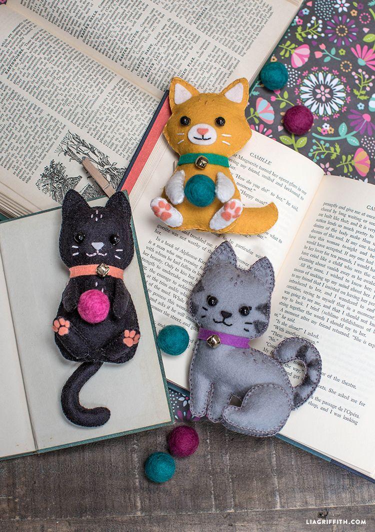 DIY Felt Craft Kittens Felting Craft And Cat