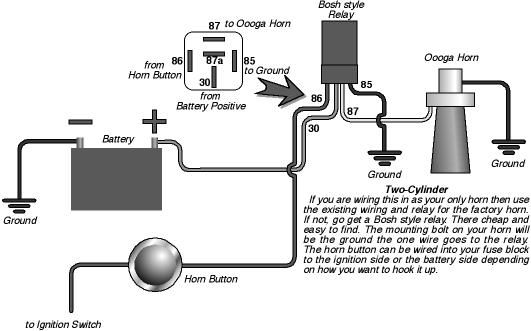 horn wire diagram hot rod  example electrical wiring diagram •