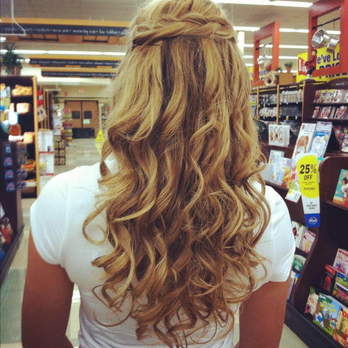 Hair for home ing Formal Hair Pinterest