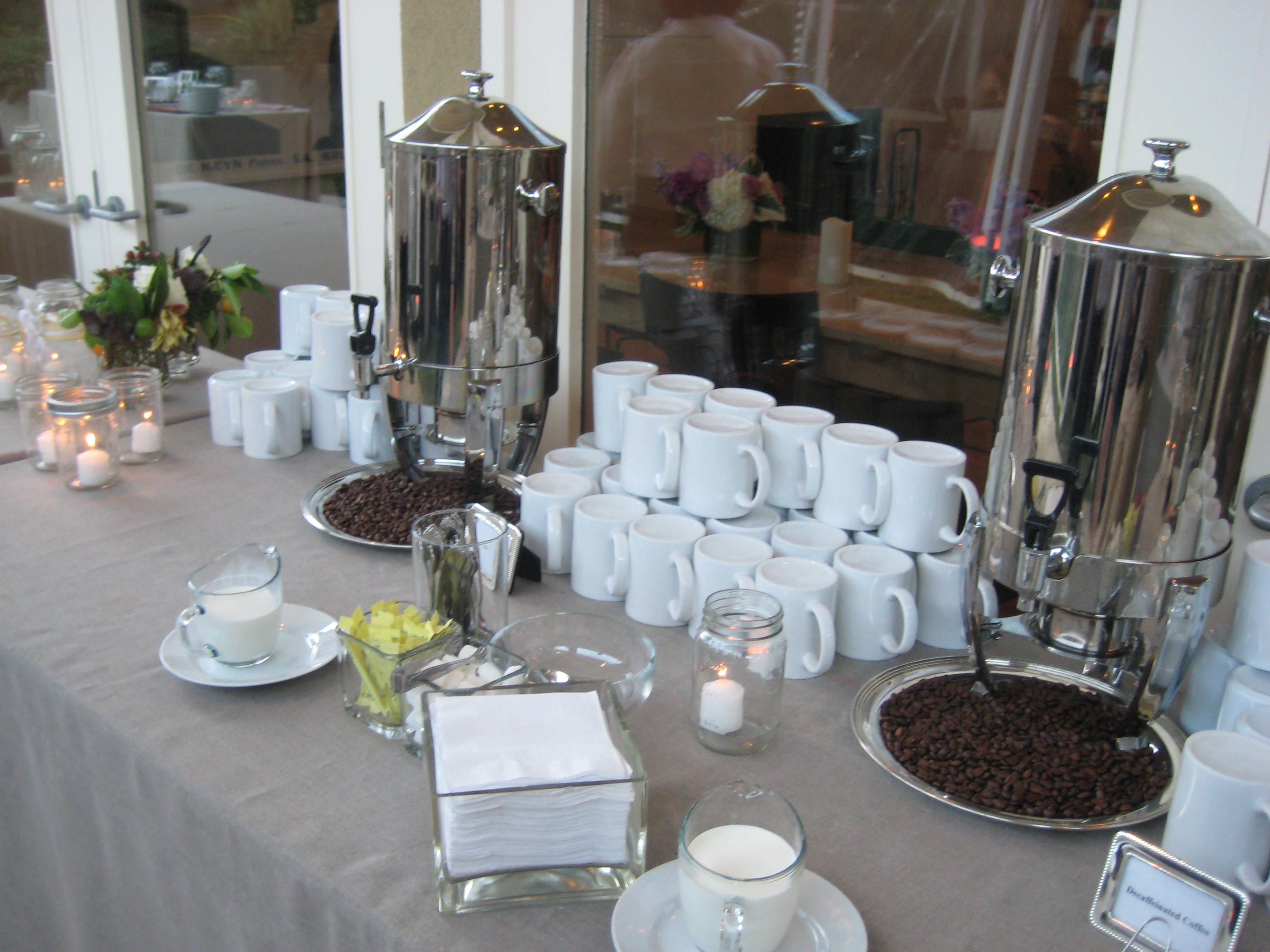 Coffee Station like the idea of coffee beans maybe a