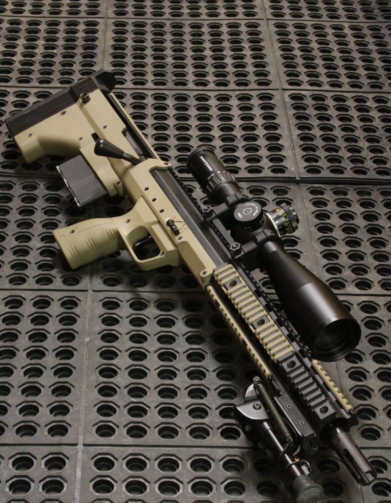 Desert Tactical Arms bullpup sniper rifle Guns(Bullpups