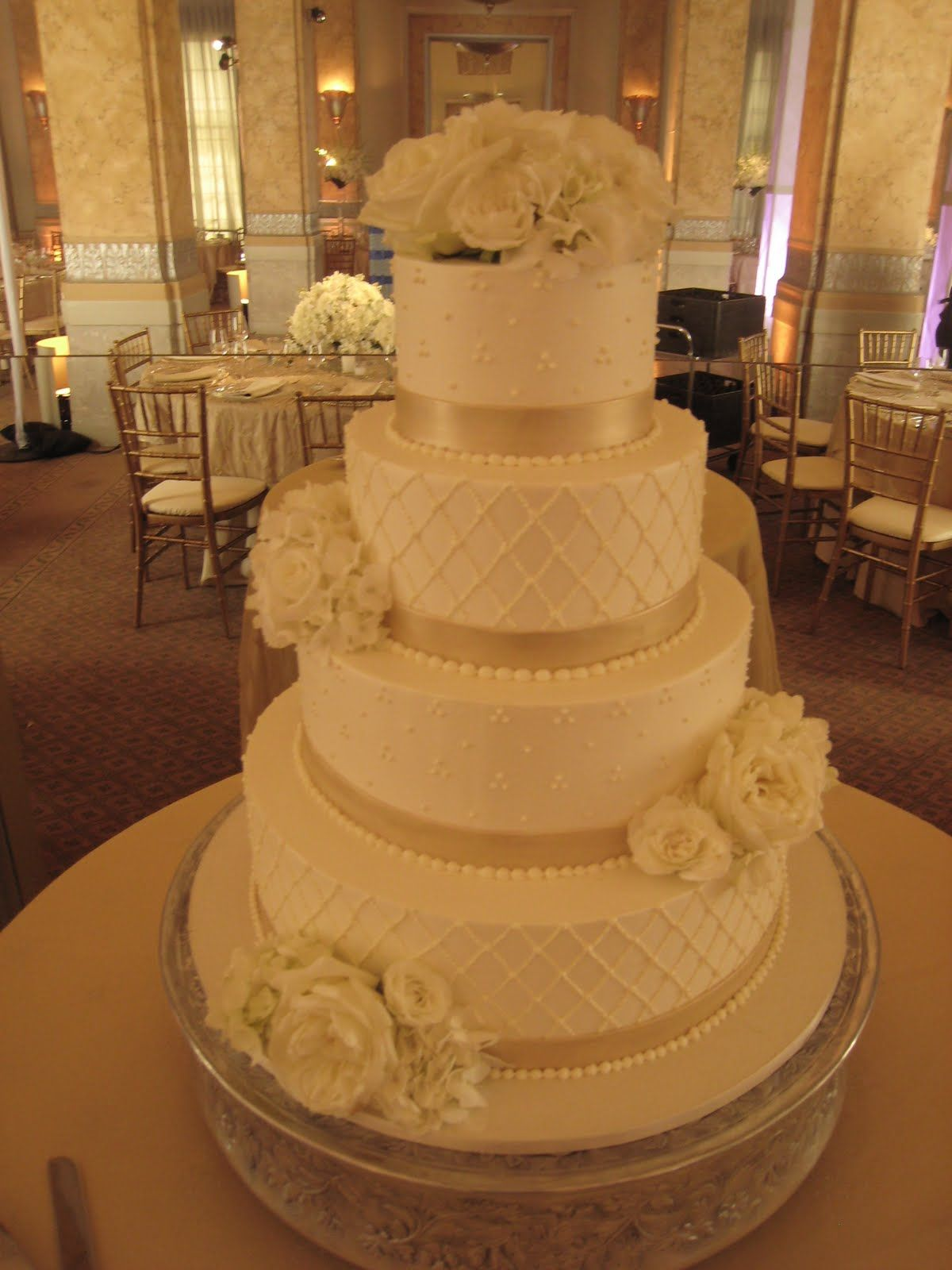 white champagne wedding cake Cake As Art By Cake