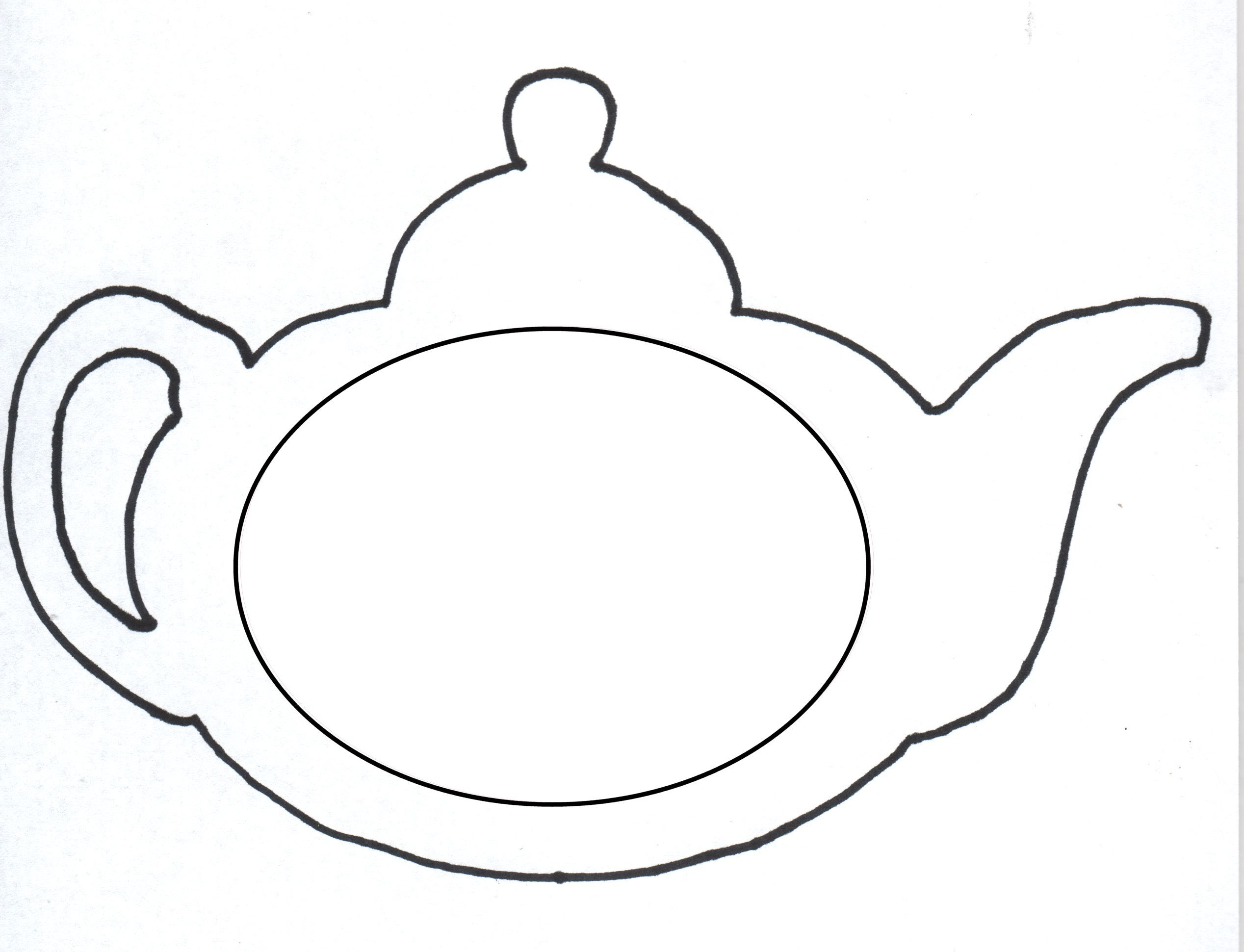 Paper Teapot Template