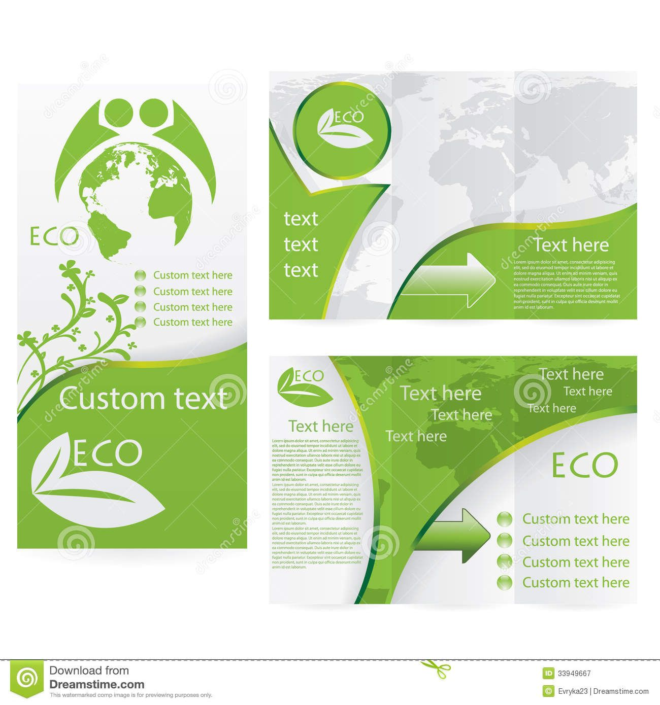 Brochure Inspiration layout and color vectorbrochure