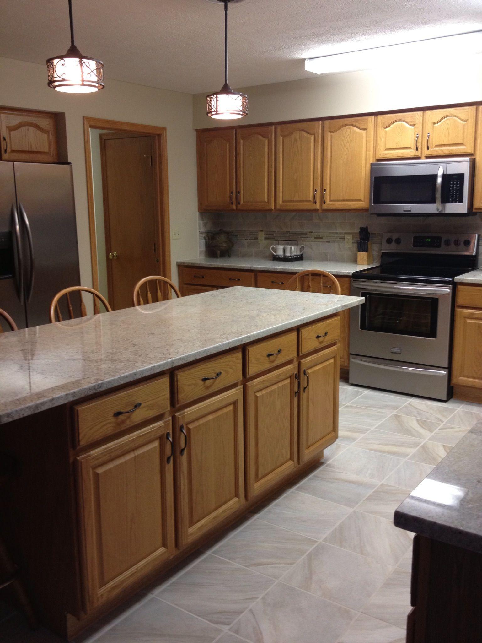 Granite Countertop Bianco Romano! We love it! Kitchen