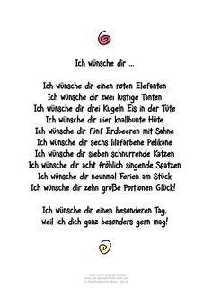 Die Persnliche Note Freebie Muttertagsgedicht Fr Kinder