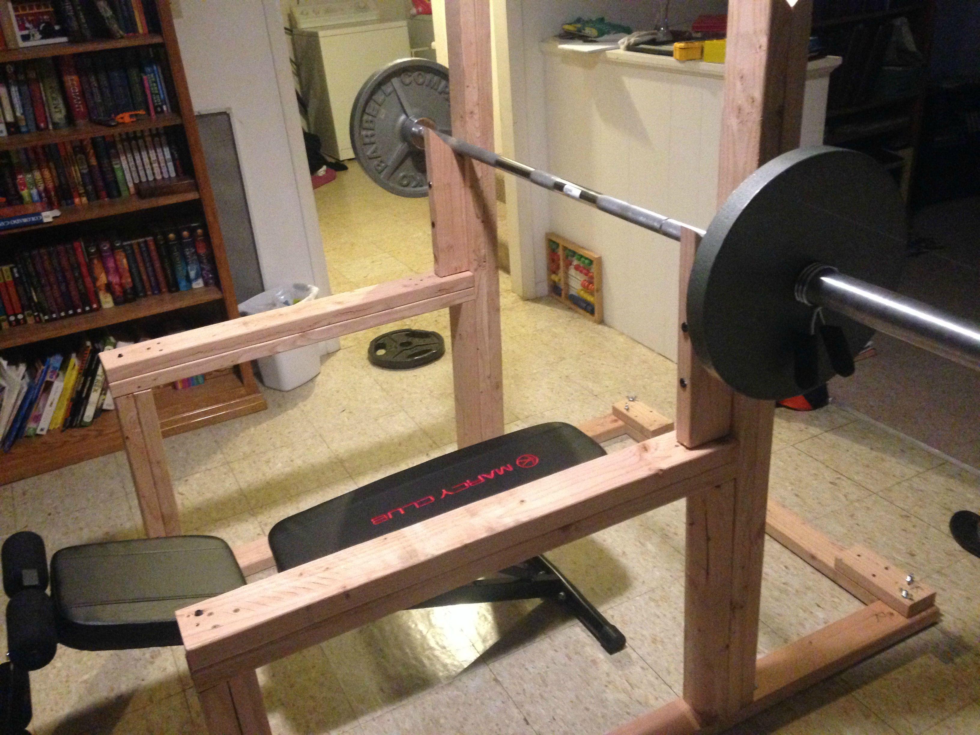 diy squat rack Google Search Body Pinterest Squat