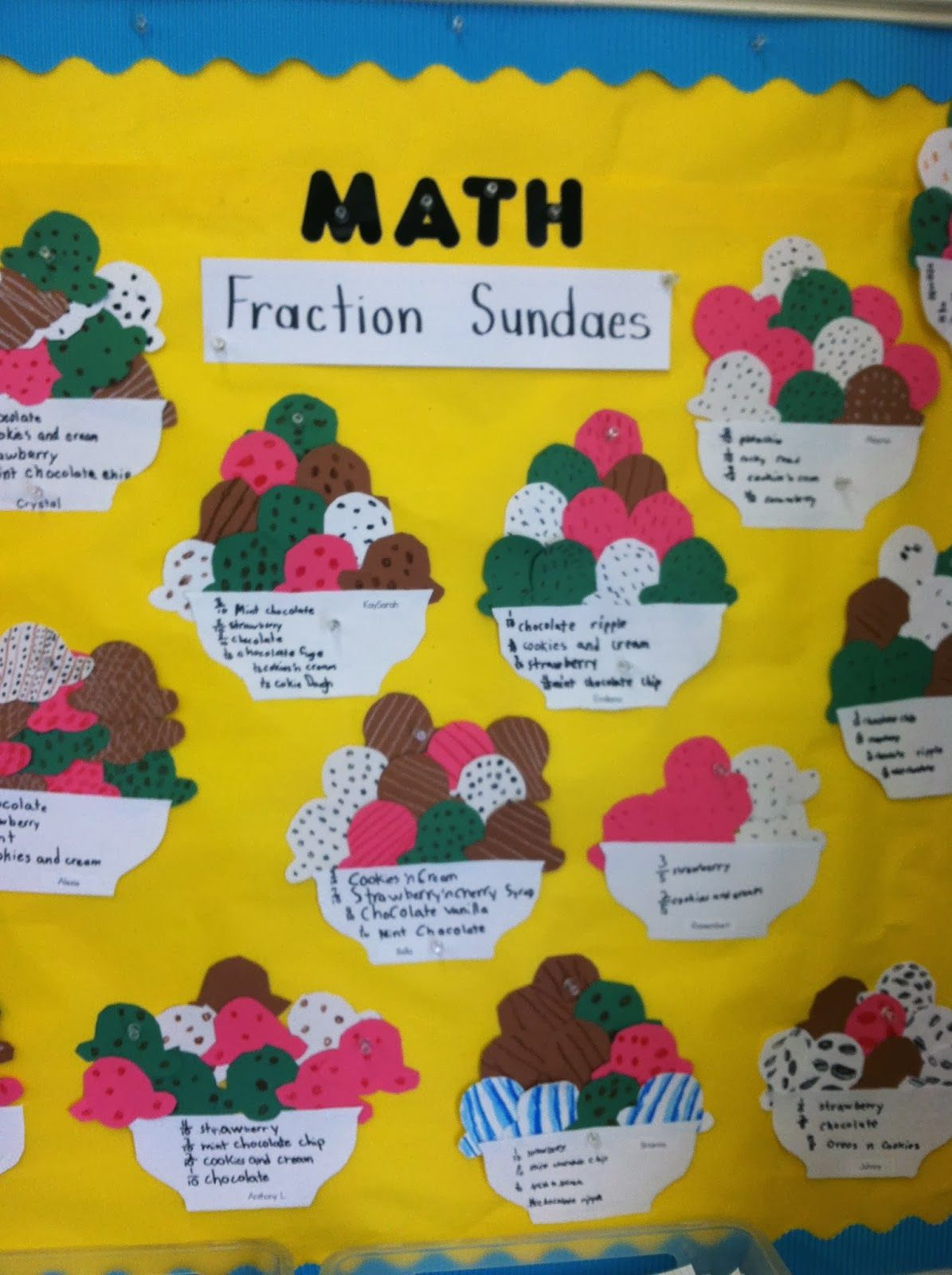 Fraction Project Learning And Having Fun Doing It
