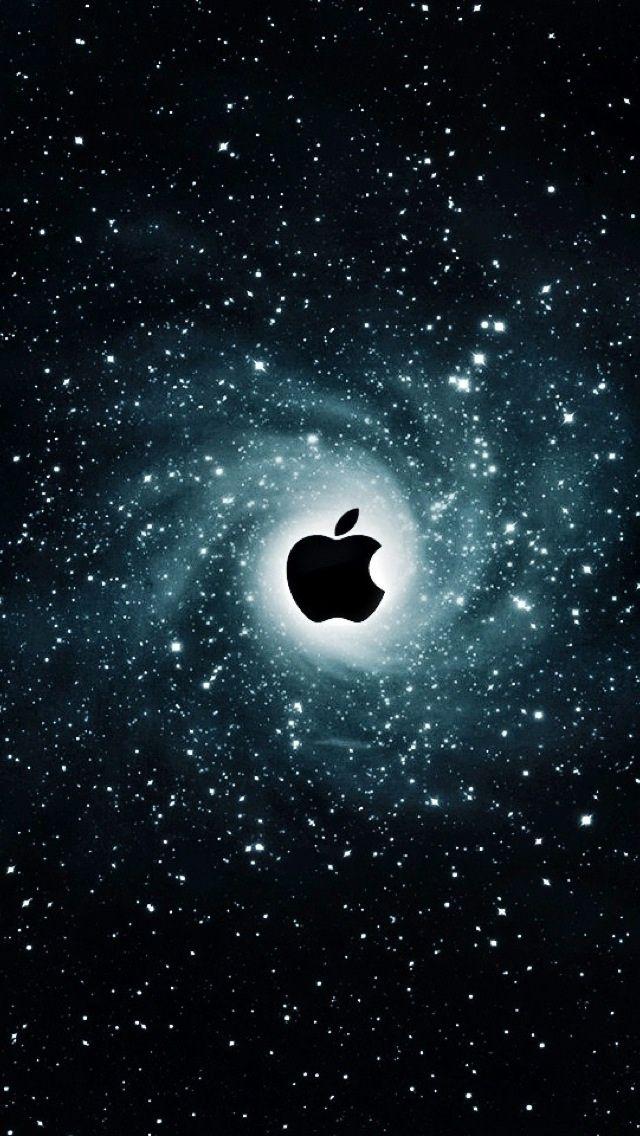 iPhone 5 Wallpaper Apple galaxy Apple Fever! Pinterest