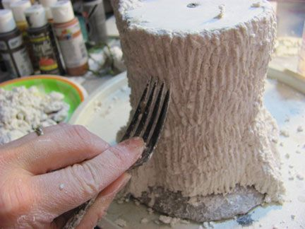 Clay Tree Bark Texture Forest Thrones Part Uh 8