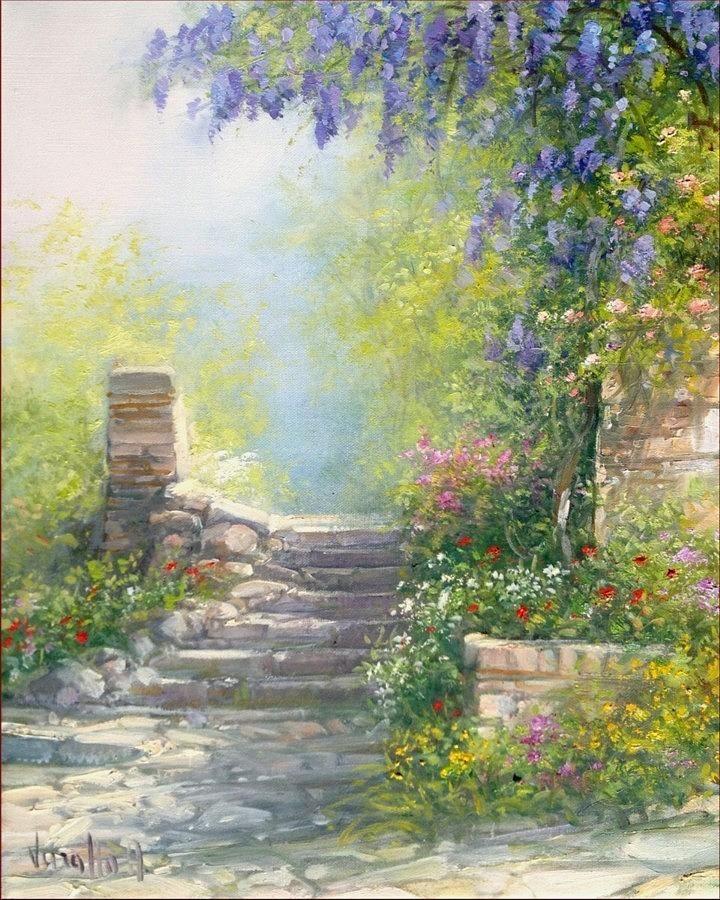 Garden Corner Italy Antonietta Varallo paisajes