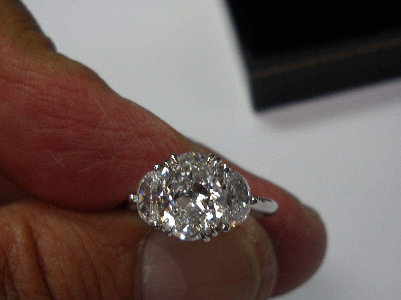 Best 25 Oval Diamond Rings Ideas On Pinterest Oval