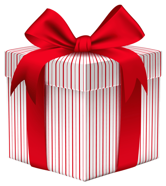 Gift Box with Bow PNG Clipart Image Boxes Pinterest