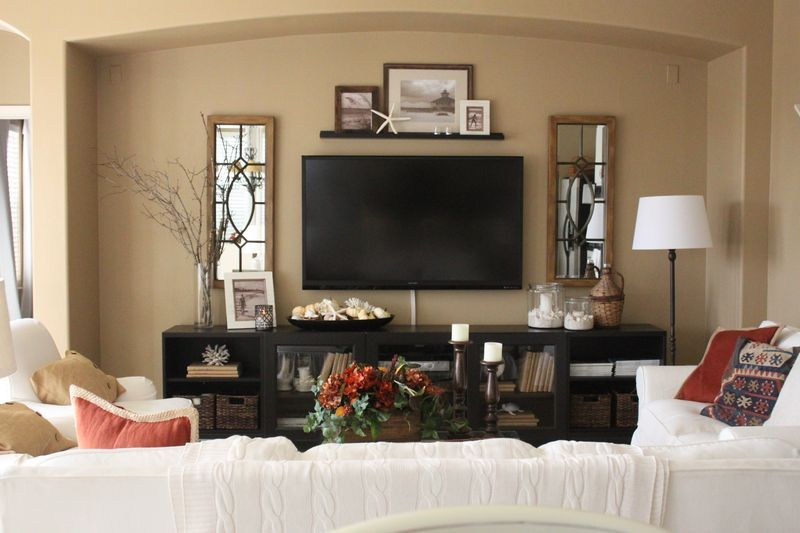 Exellent Living Room With Tv As Focal Point A Simply