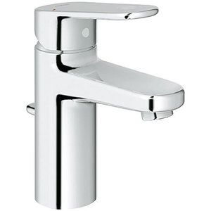 grohe g33170002 europlus single hole bathroom faucet - starlight