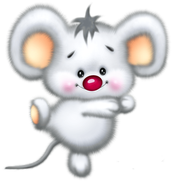 Cute White Mouse Cartoon Clipart Gallery Pinterest