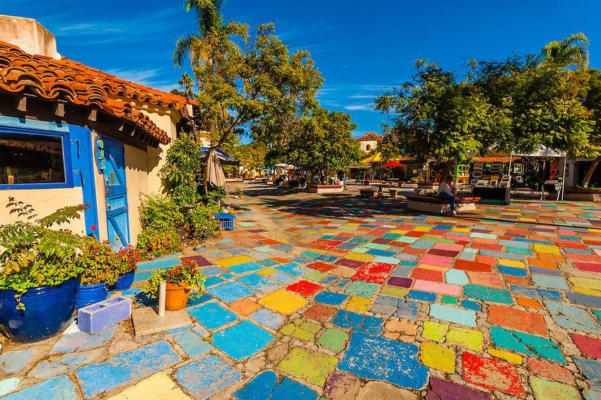 Spanish Village Art Center, Balboa Park, San Diego