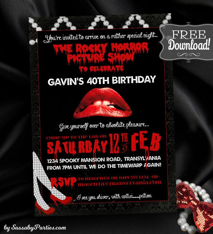 Category Invitation Horror pictures, Horror and Party