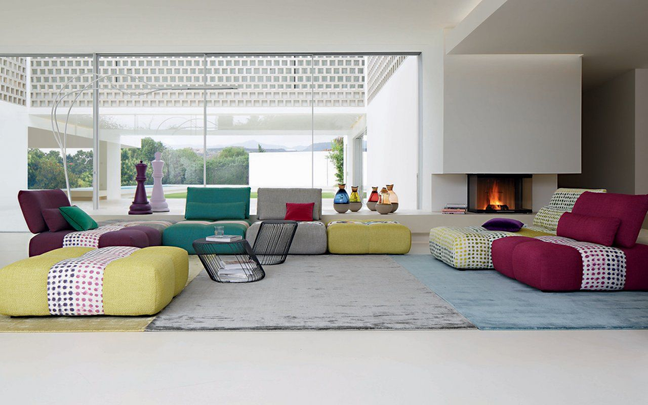 PARCOURS Modular Sofa Sacha Lakic Design For The Roche
