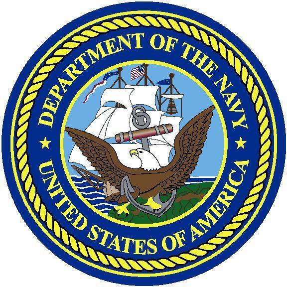 U.S. Navy Round Logo Rug Online Round logo