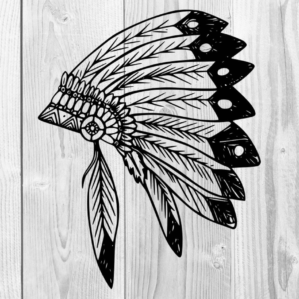 Native American Indian SVG SVG Cut Files SVGs Svg