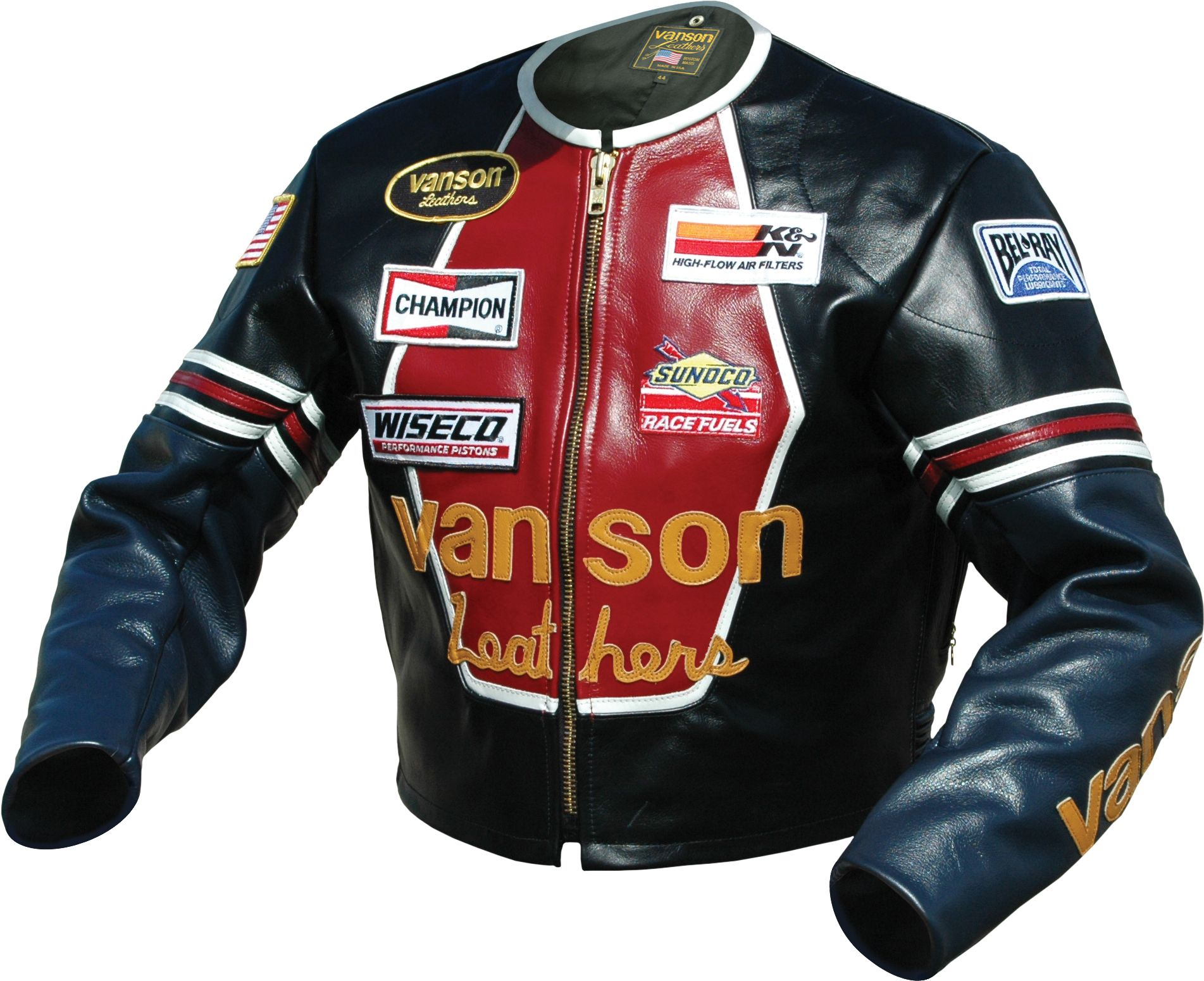 The Star jacket from Vanson Leathers. From a review of 6