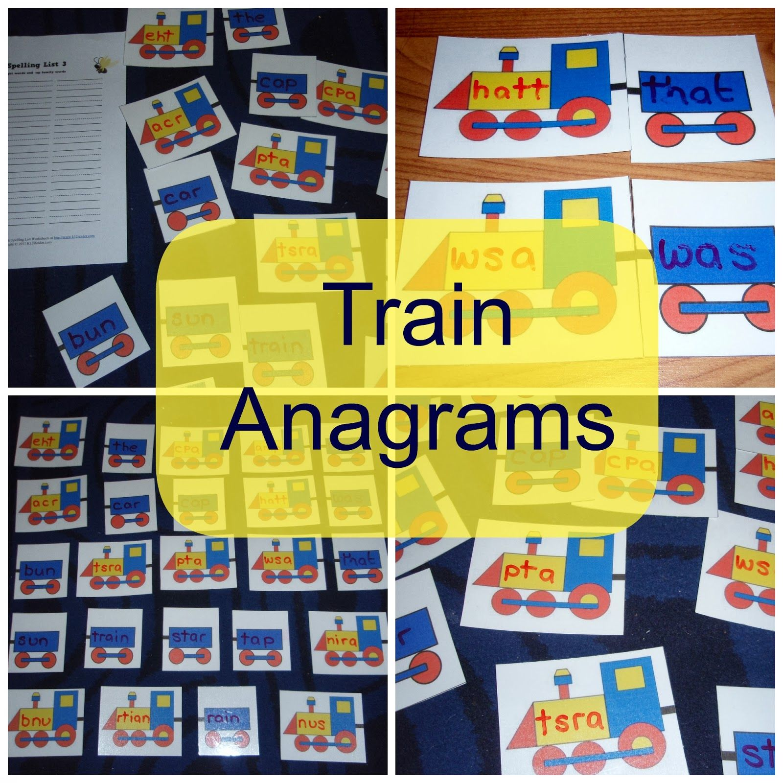Mothers Madness Train Anagrams