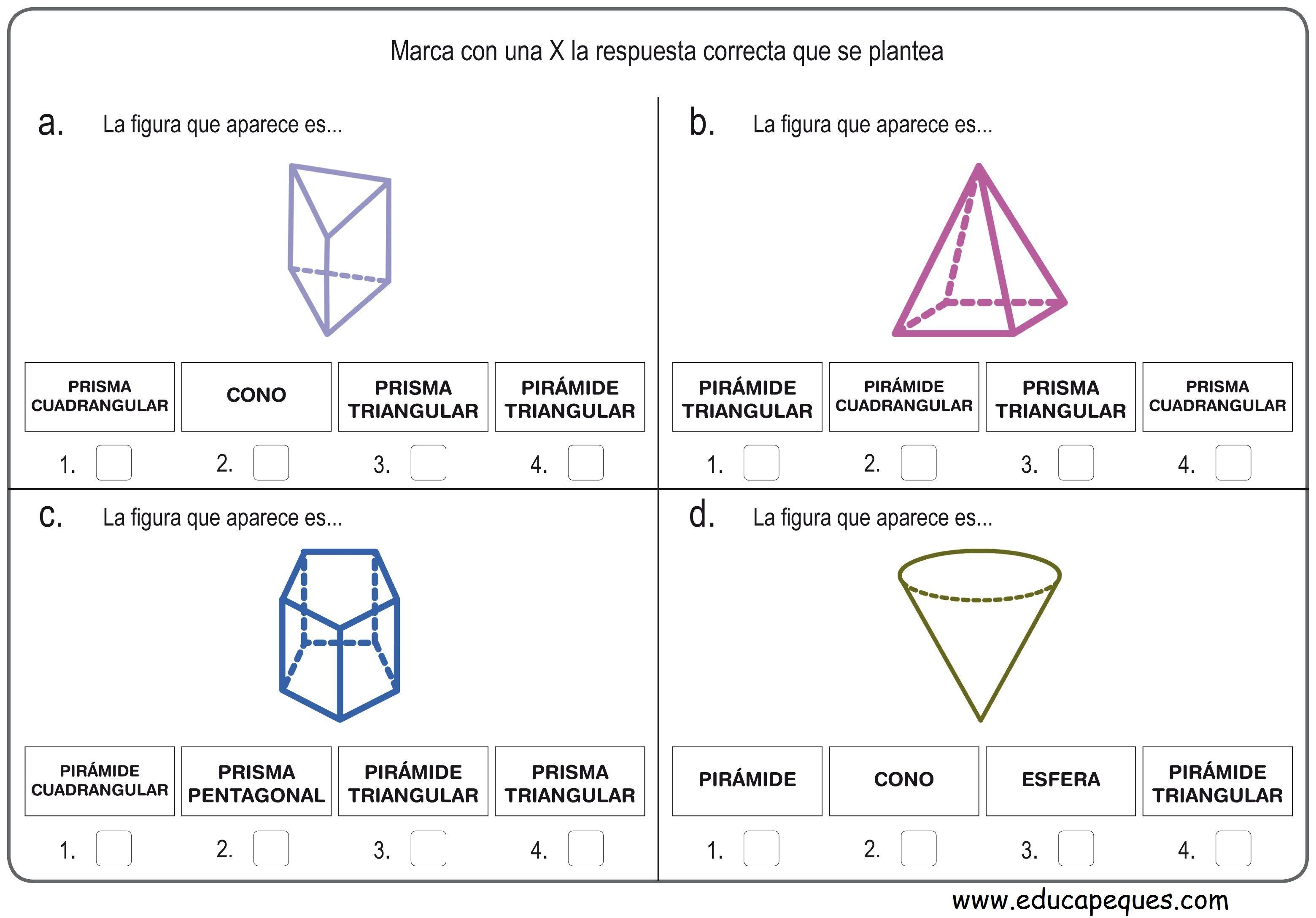 Recursos Educativos Figuras Geometricas Hoy Os Dejamos