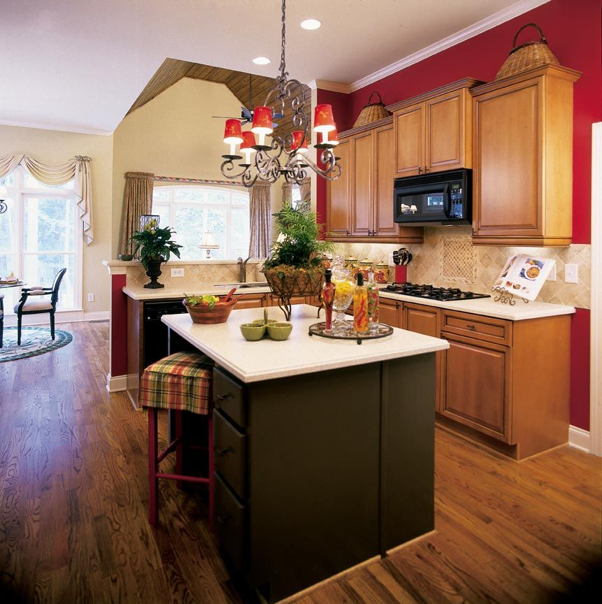 Color Scheme kitchen decorating ideas Awesome Red