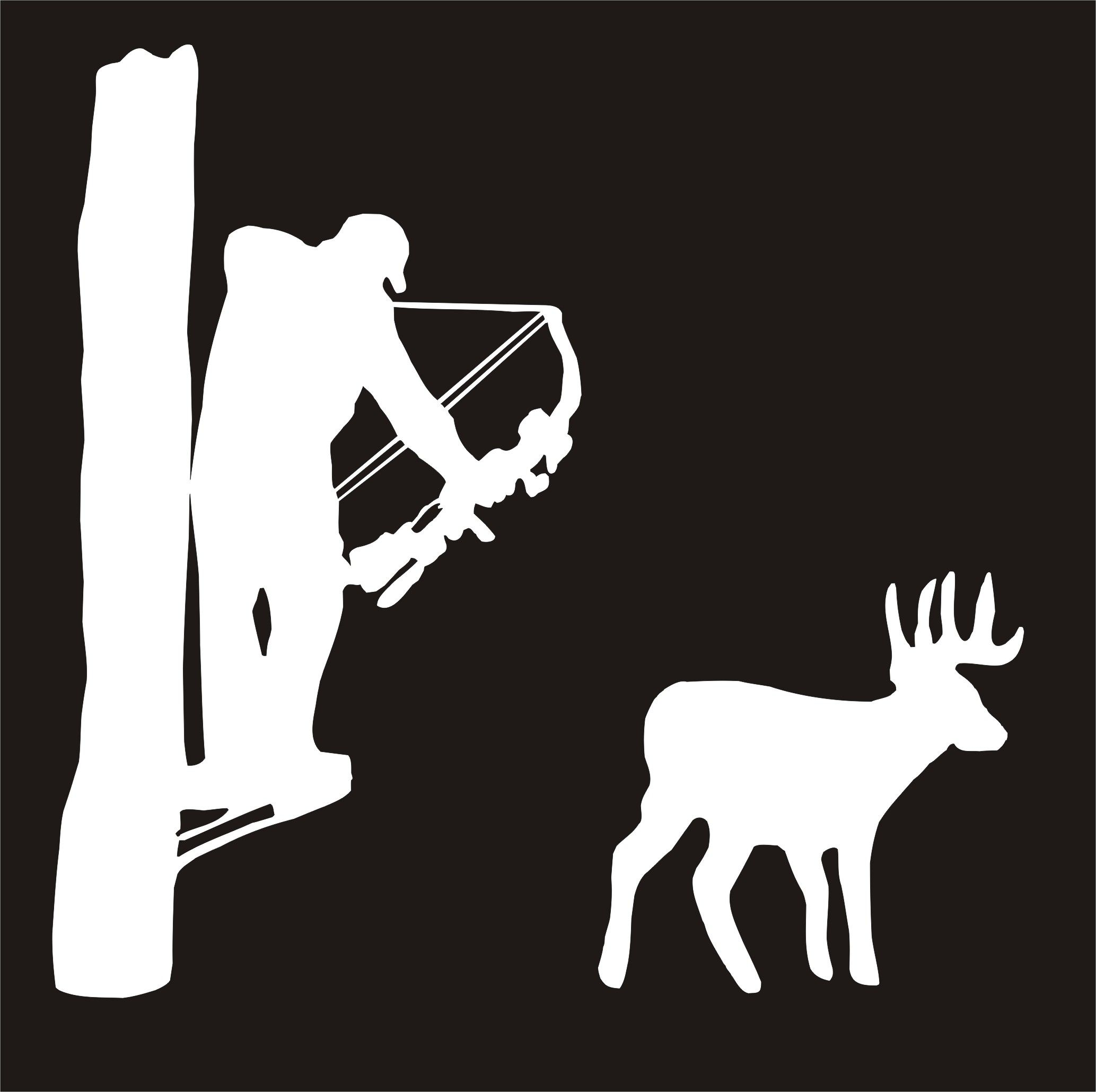 tree stencils Google Search * Deer Hunting Silhouettes