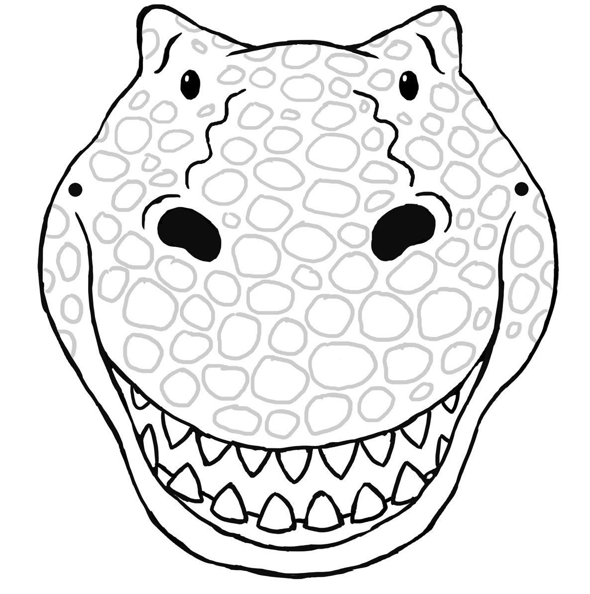 {Activities} T Rex Mask
