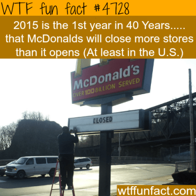 McDonalds to close more stores than it will open this year ...