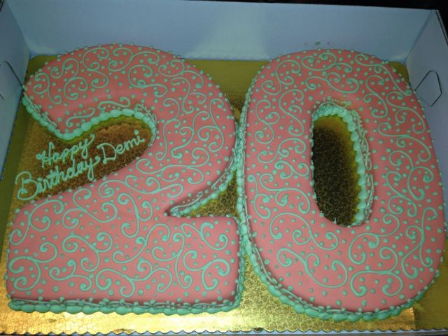 20th birthday cake food pinterest 20th birthday