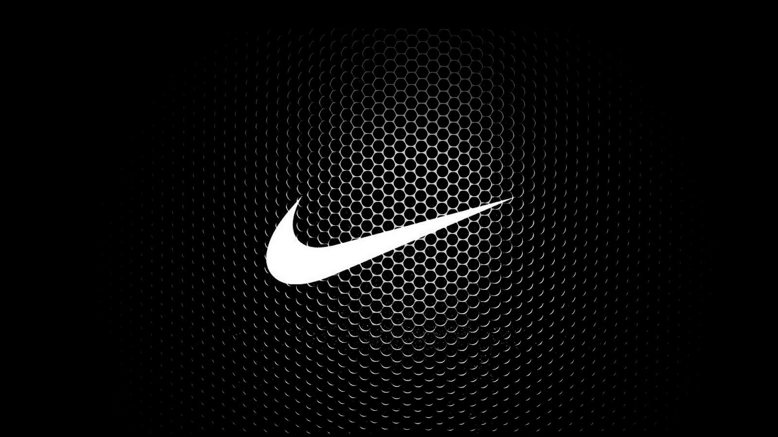 New White And Black Nike Logo Best HD Wallpaper Background