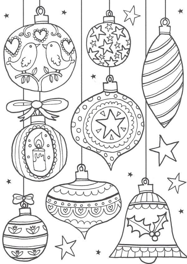 coloring christmas pages # 61