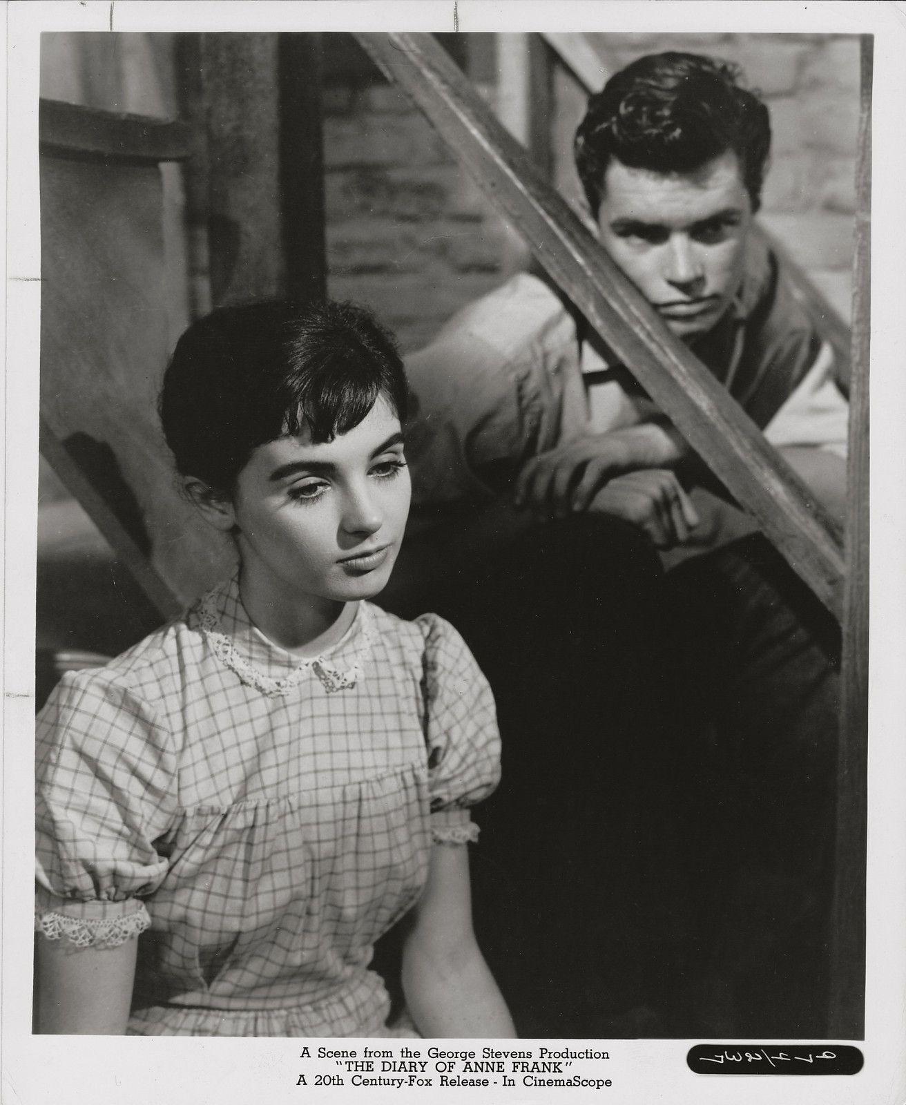 Millie Perkins, Richard Beymer, Diary of Anne Frank, 1959