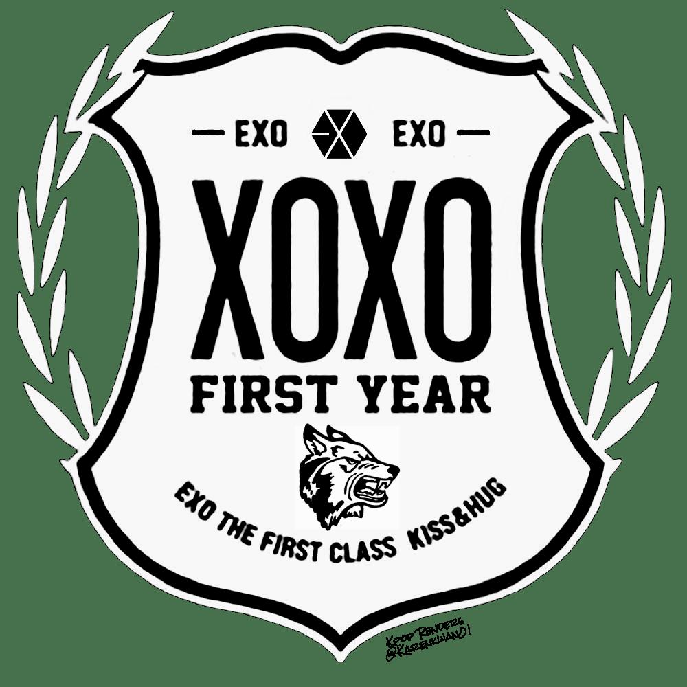 {PNG}Logos; EXO Kpop Renders KPOP LABEL STICKERS