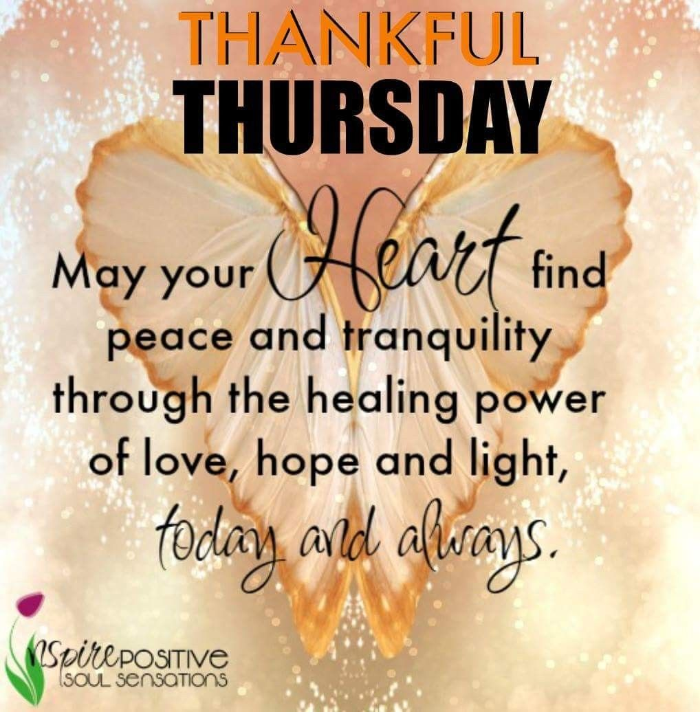 Thankful Thursday Thursday quotes Pinterest Thankful