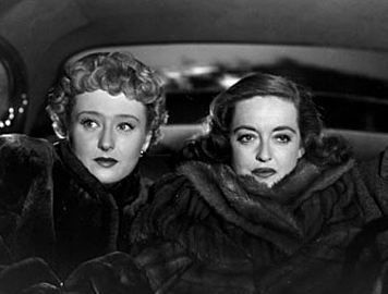 Image result for ALL ABOUT EVE CELESTE HOLM AND BETTE DAVIS