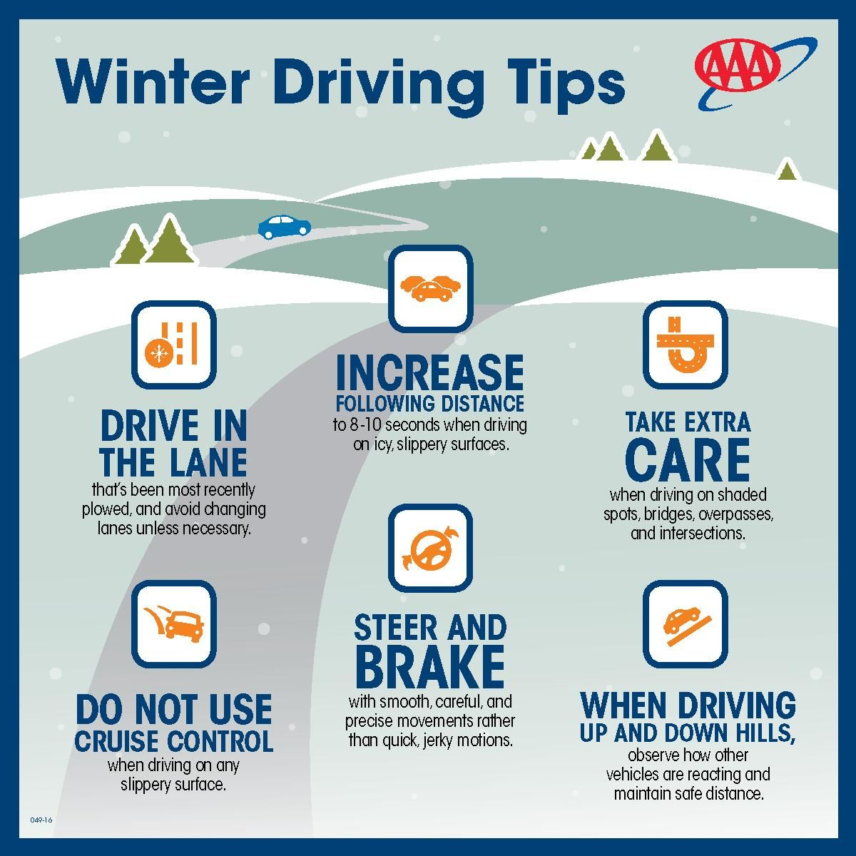Use these winter driving tips to keep you safe. Staying