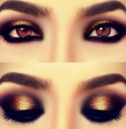 Eye Makeup For A Black And White Dress Makeupview Co
