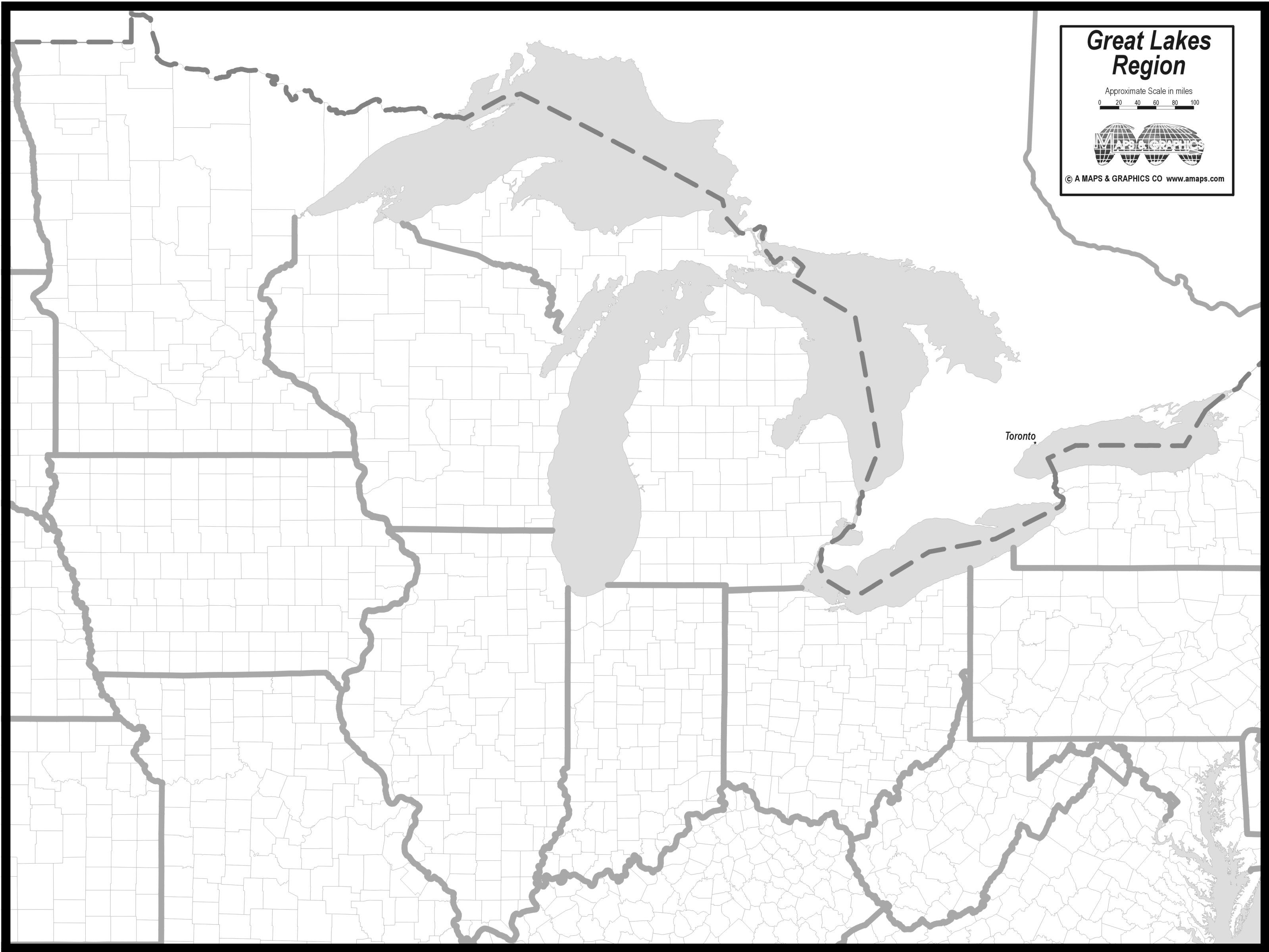 Great Lakes Map Worksheet Grade 4