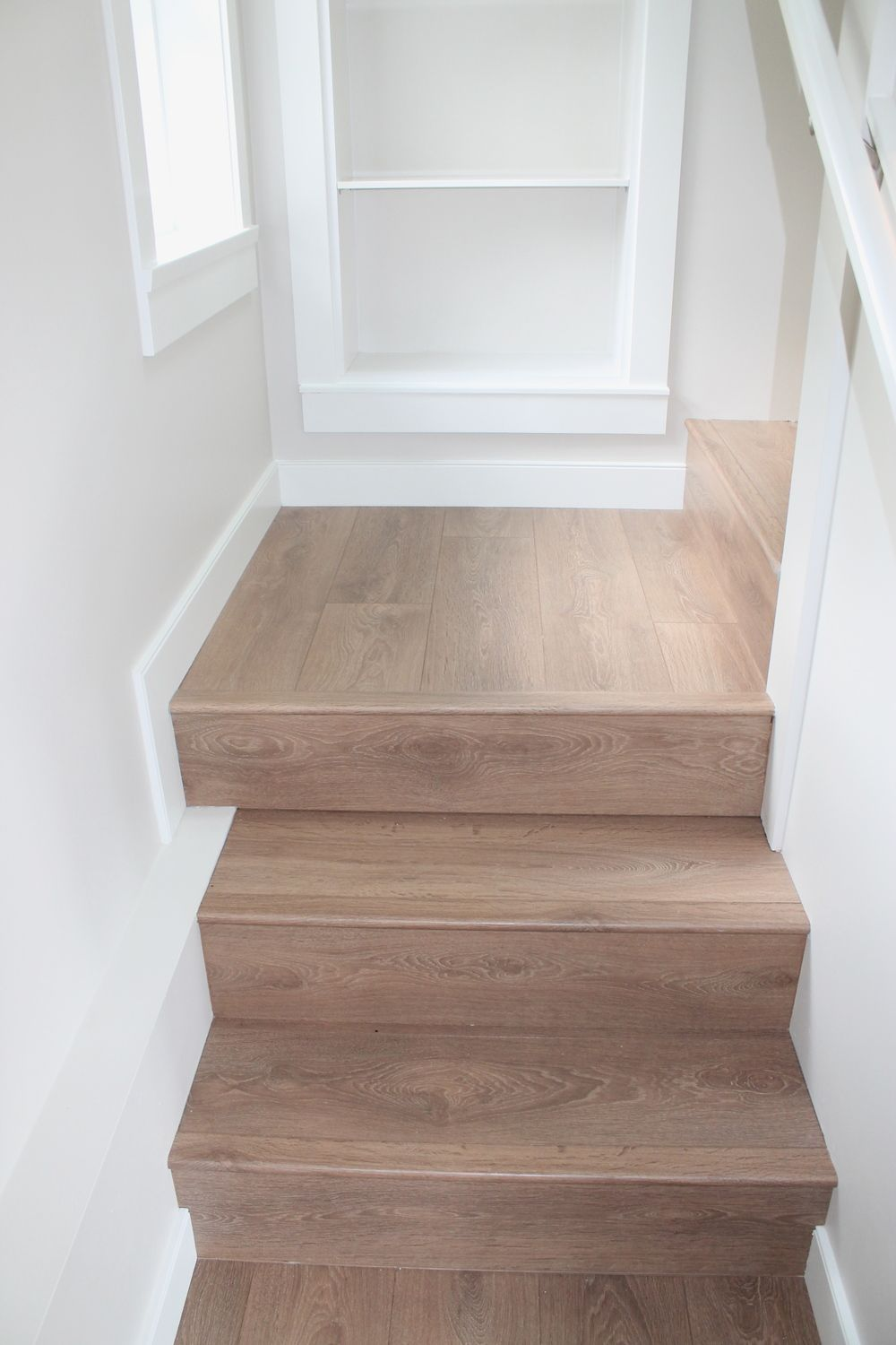 Laminate Staircase Installation Stairs Pinterest