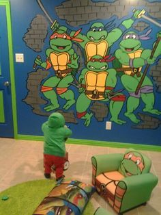 ninja turtle boys bedroom - google search | matheu's room